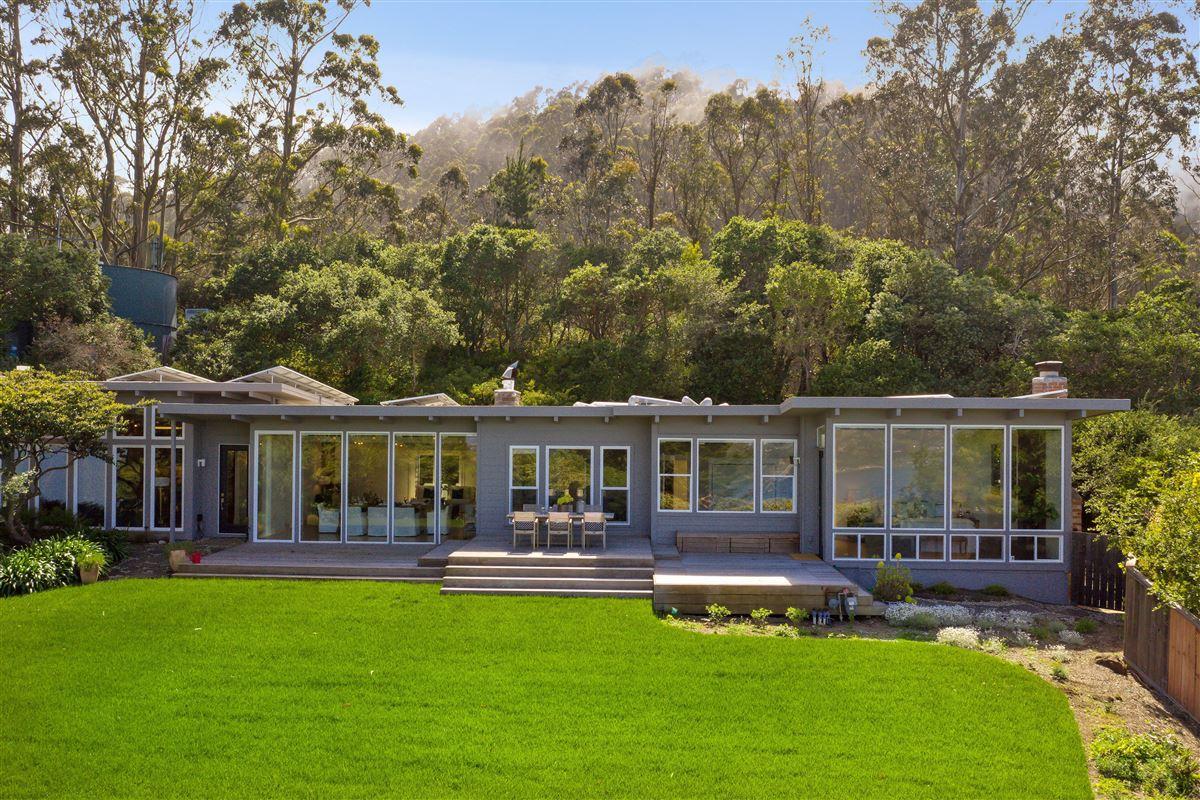Exquisite modern Sausalito home luxury properties