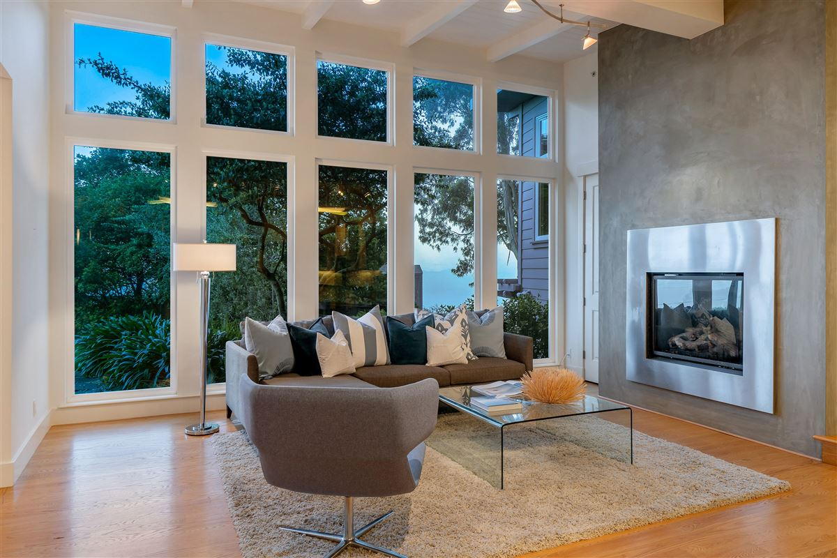 Exquisite modern Sausalito home luxury real estate