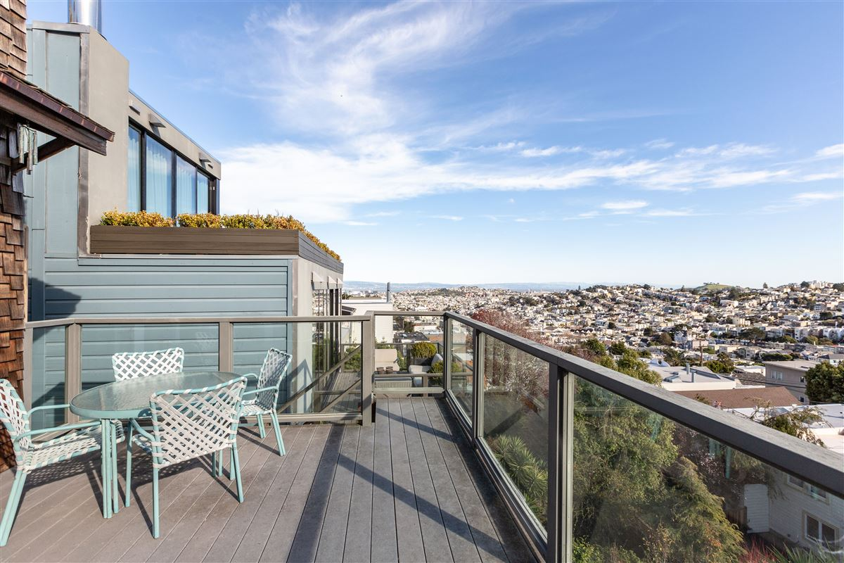 Luxury homes sweeping views from east bay to Sutro Tower