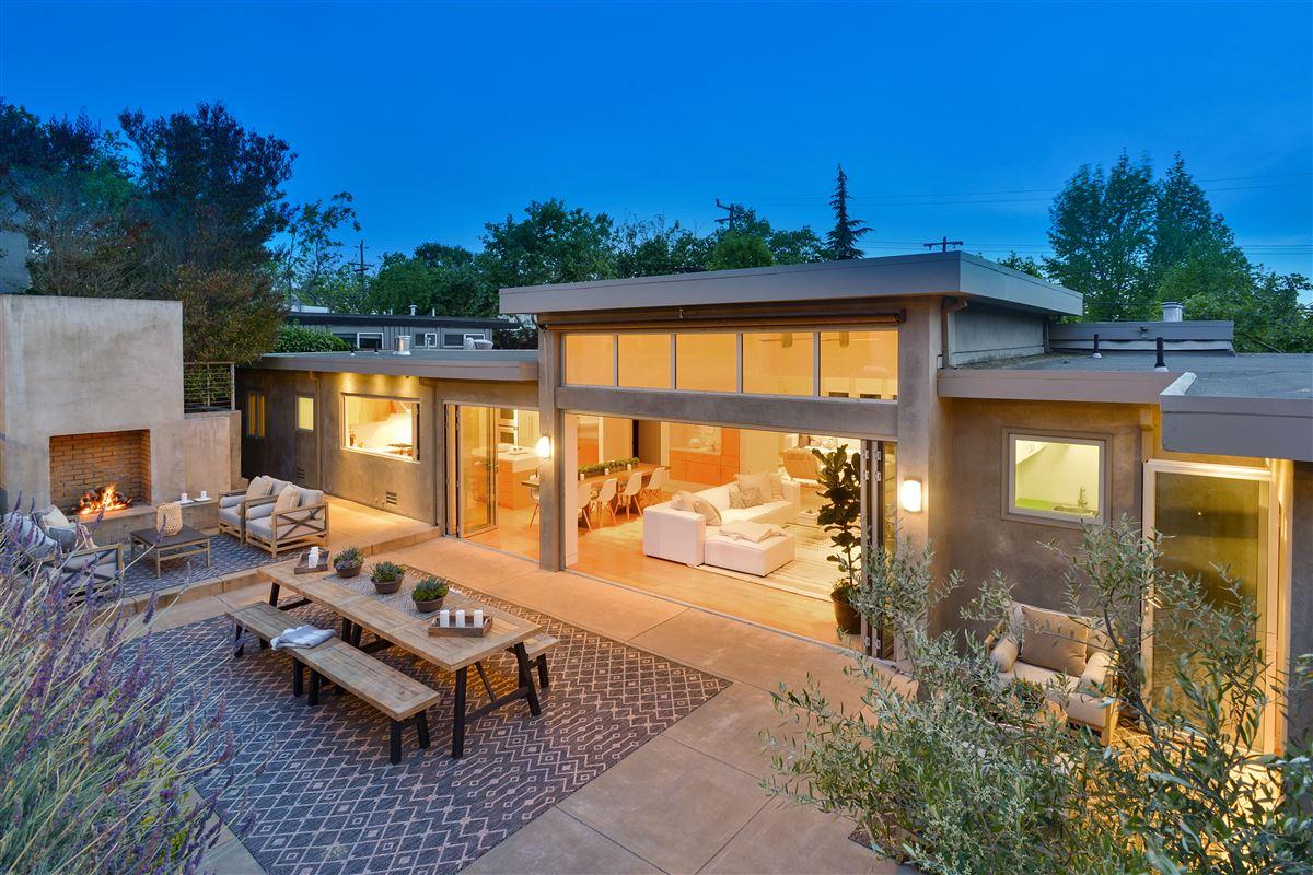 Luxury properties beautifully updated Piedmont home