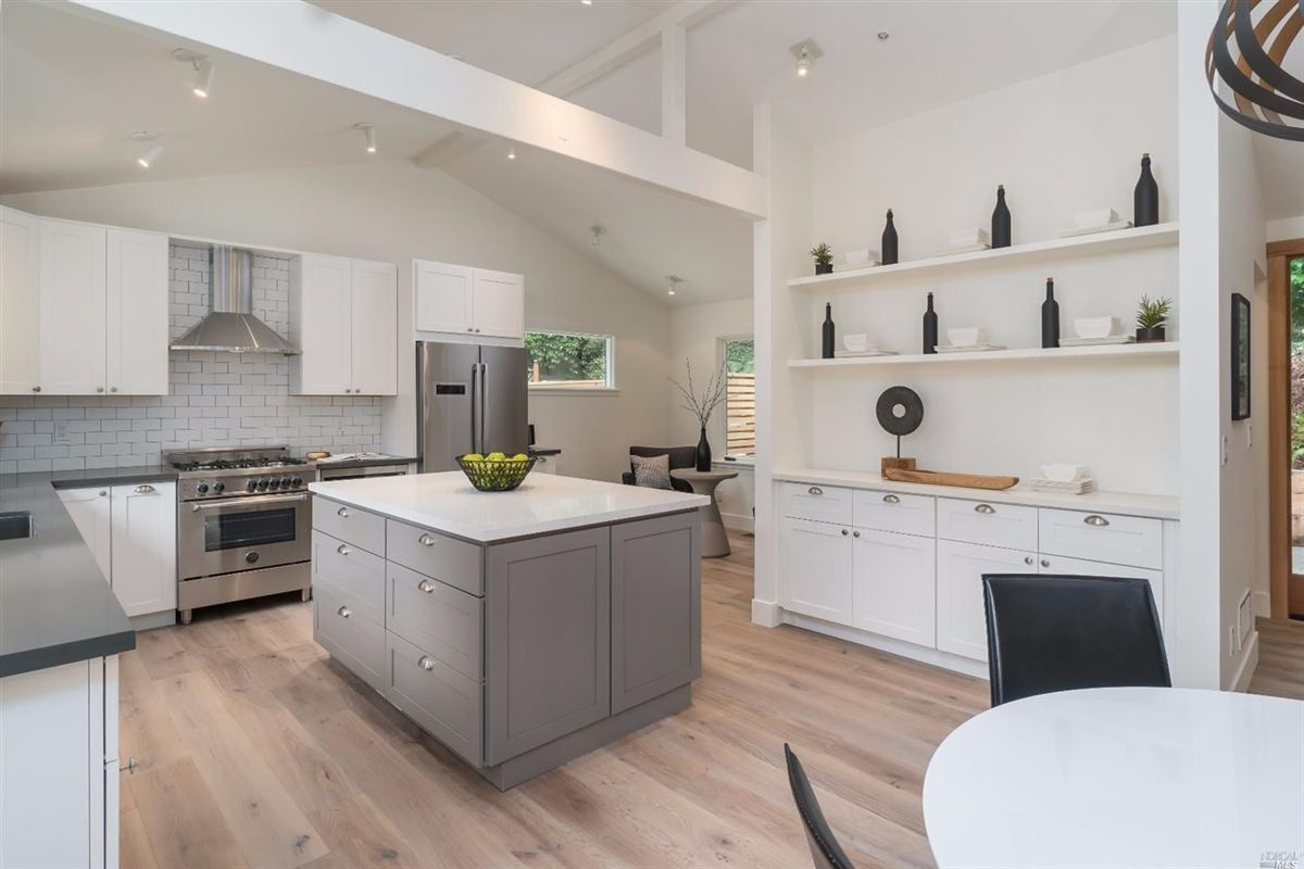 Newly remodeled home in the heart of downtown Mill Valley luxury homes