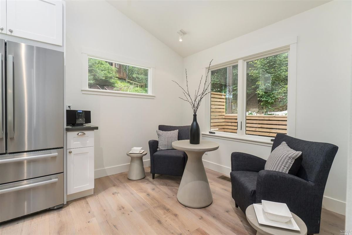 Newly remodeled home in the heart of downtown Mill Valley luxury real estate