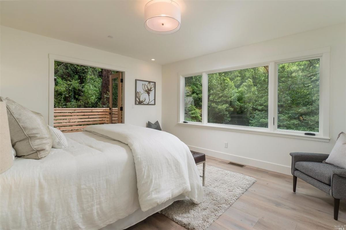 Newly remodeled home in the heart of downtown Mill Valley luxury properties