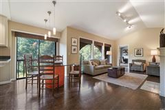 Mill Valley home on a private lot luxury real estate