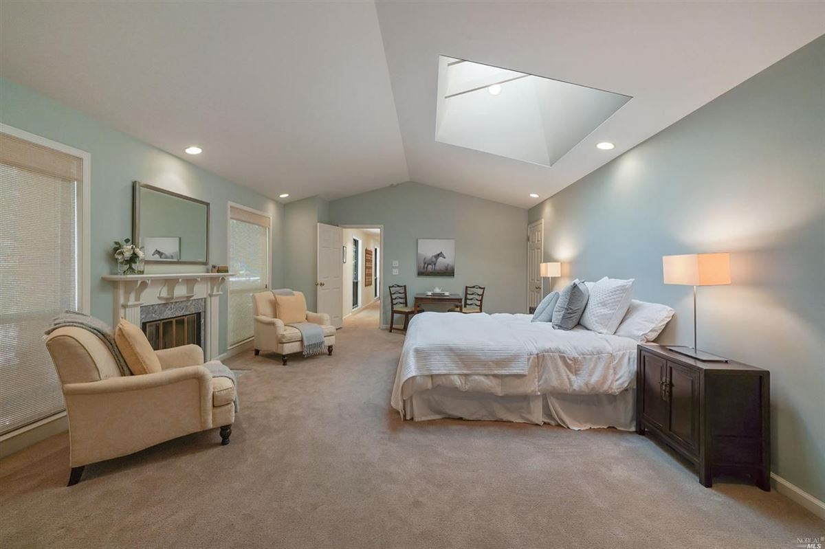 Luxury homes Mill Valley home on a private lot