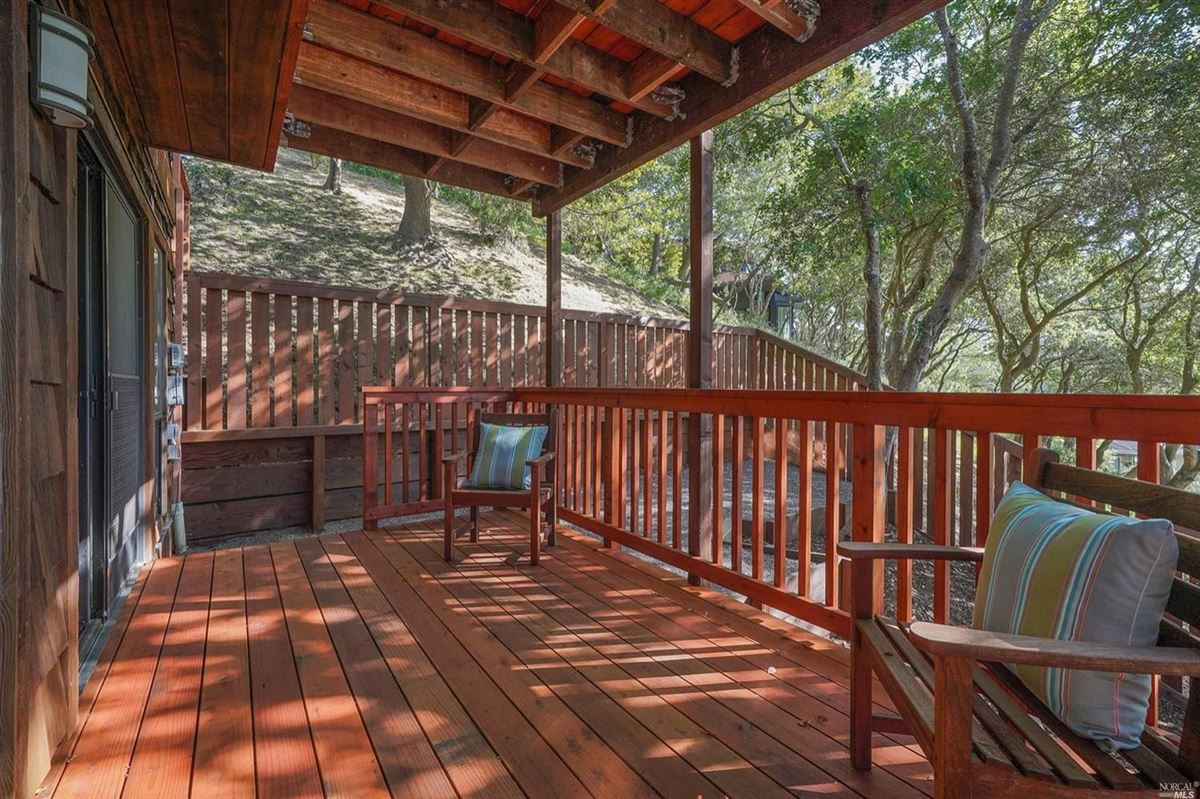 Mill Valley home on a private lot luxury properties