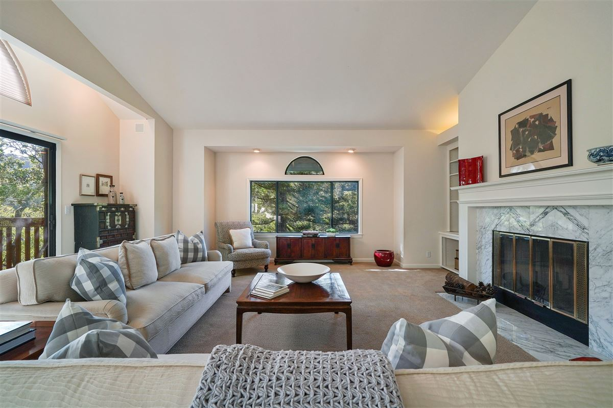 Luxury homes wonderful mill valley home on a private lot
