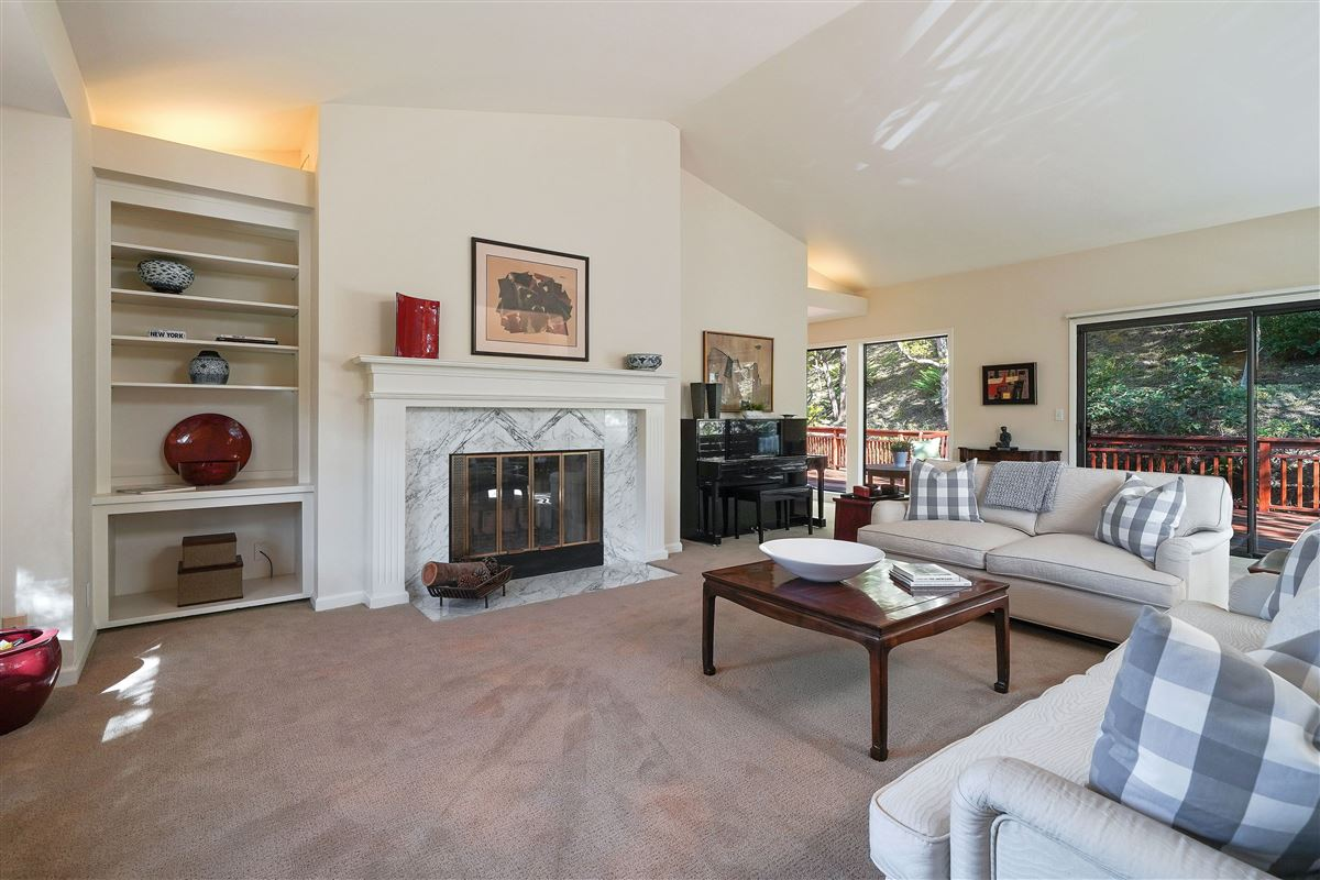 wonderful mill valley home on a private lot luxury homes
