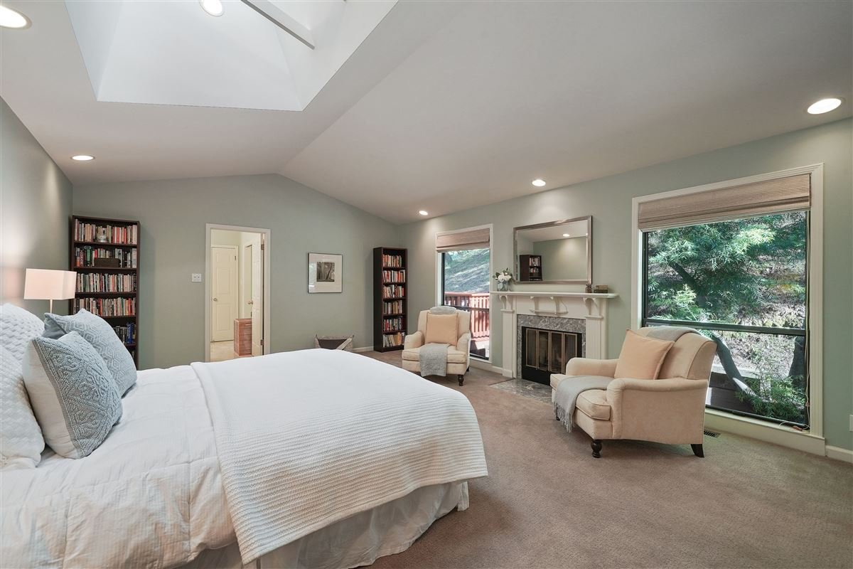 Luxury properties wonderful mill valley home on a private lot