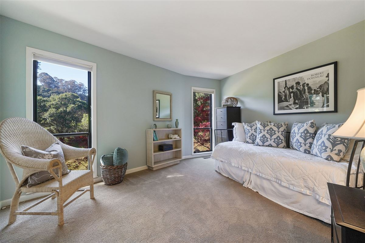 wonderful mill valley home on a private lot luxury real estate