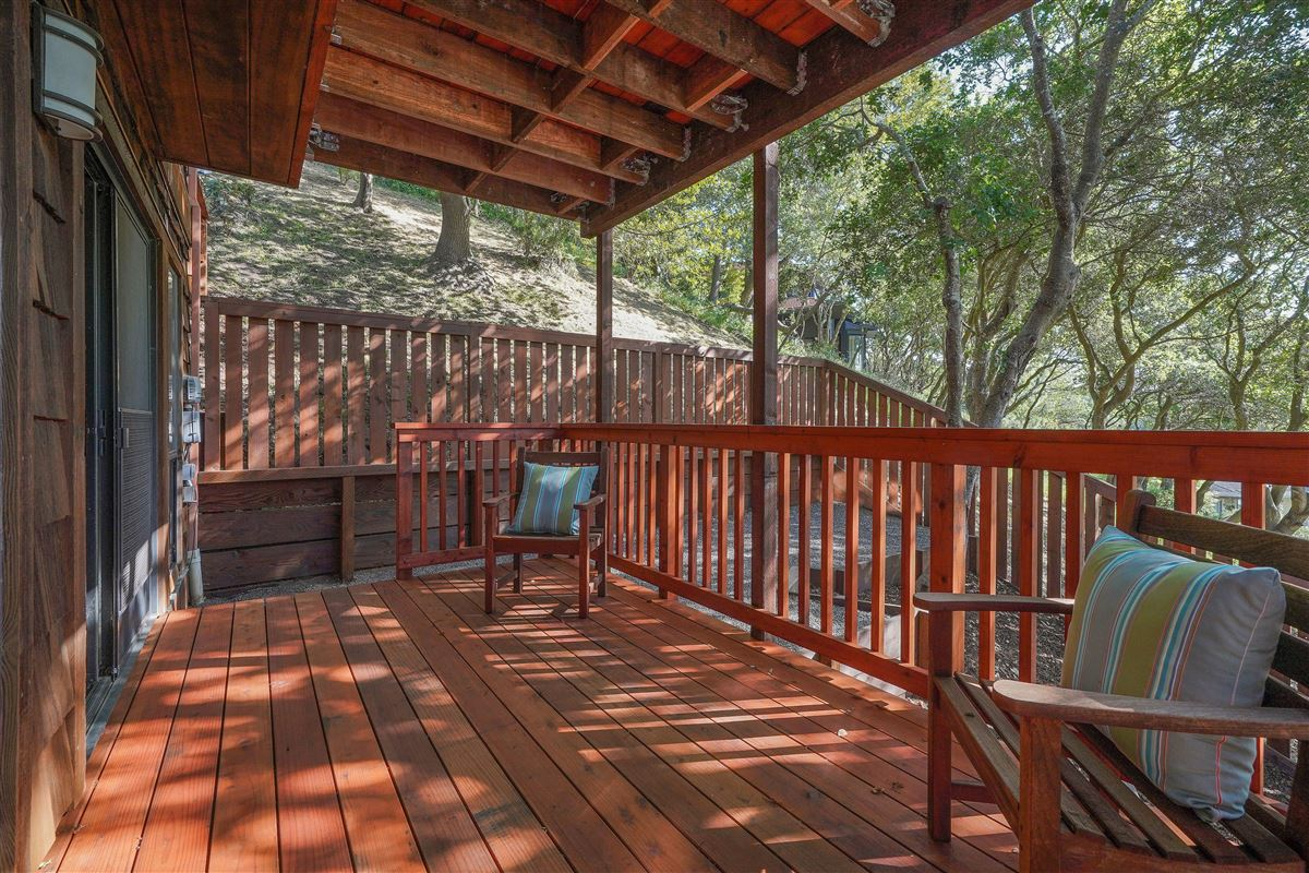 Luxury homes in wonderful mill valley home on a private lot