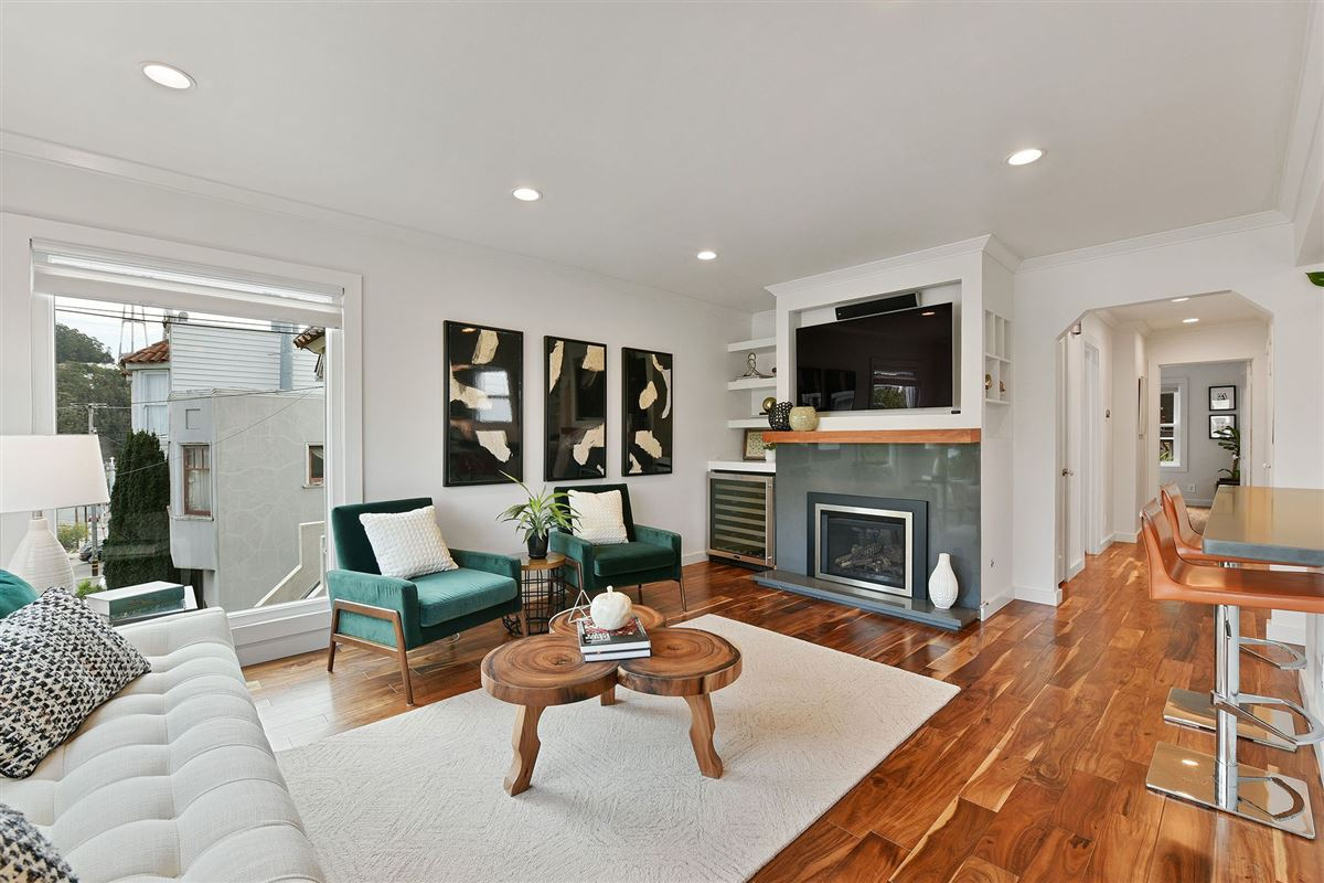 Luxury homes a fully renovated home