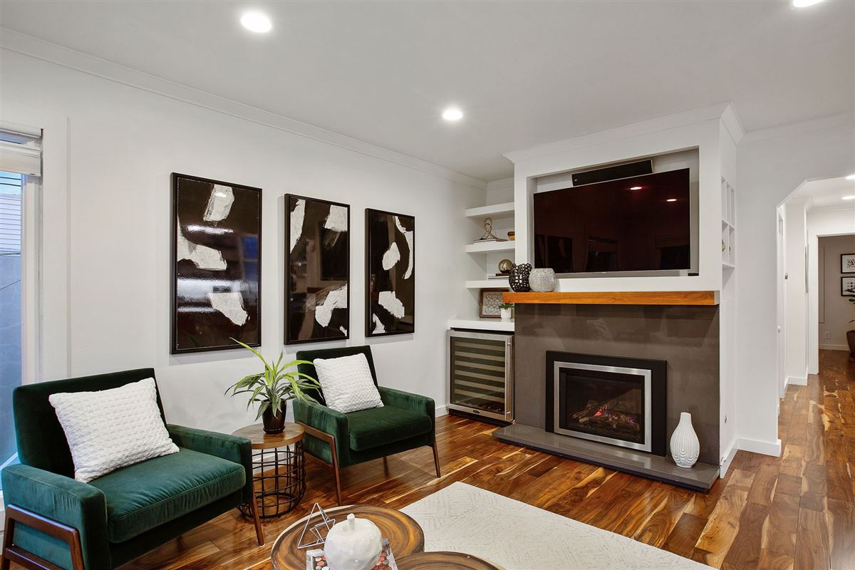 Luxury real estate a fully renovated home