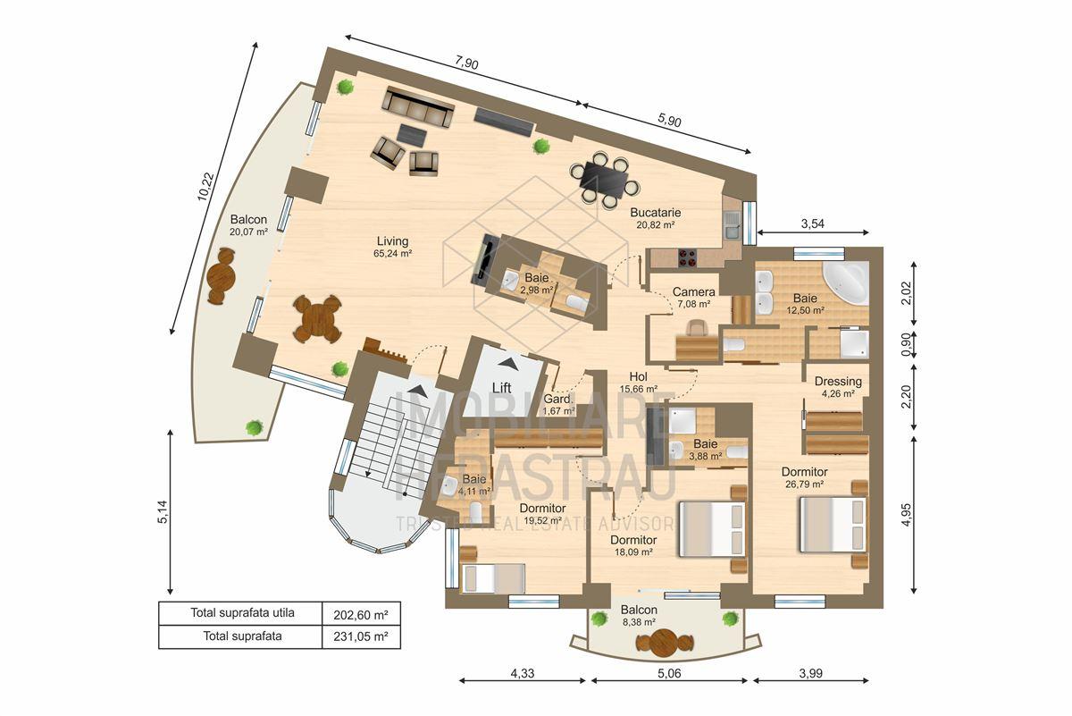 Luxury real estate Luxury Apartment in Primaverii