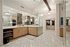 chic modern remodel in Santaluz luxury homes