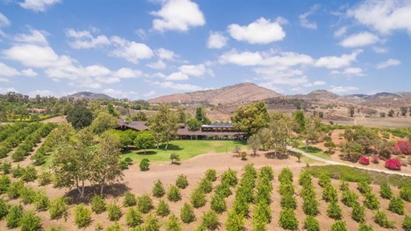 one of the most expansive tracts in coveted Rancho Santa Fe luxury real estate