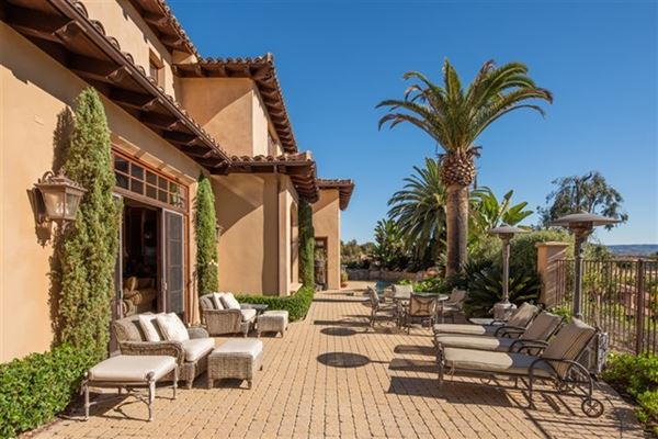elegant estate in coveted Rancho Pacifica luxury properties