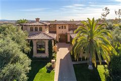 elegant estate in coveted Rancho Pacifica luxury homes