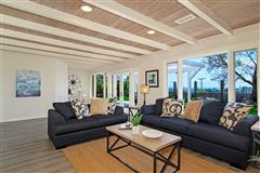 Luxury homes in light and bright coastal home