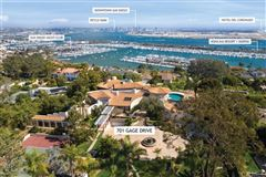 Mansions in rare in-town gated compound