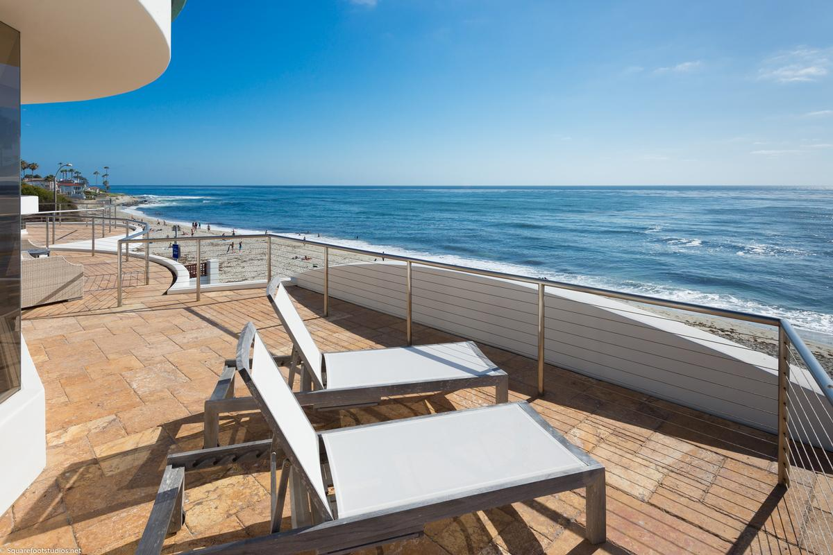 Mansions oceanfront La Jolla home