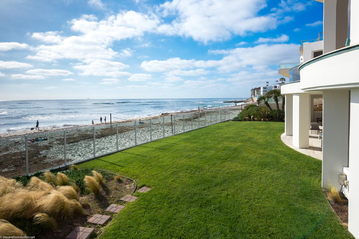 Luxury real estate oceanfront La Jolla home
