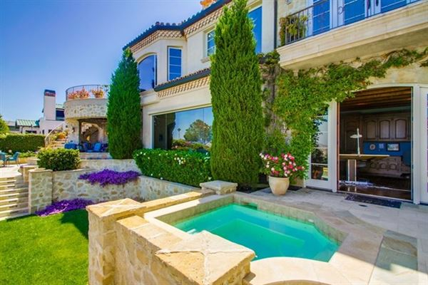 European-Inspired residence with The best Solana Beach views luxury real estate