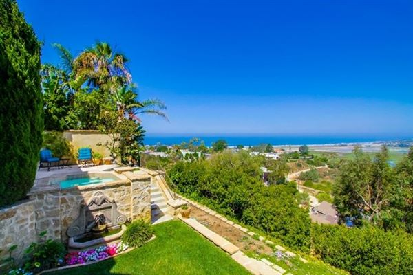 Luxury properties European-Inspired residence with The best Solana Beach views