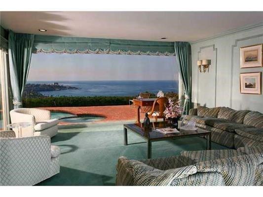 Luxury homes enjoy 180 degree sit down ocean cove views