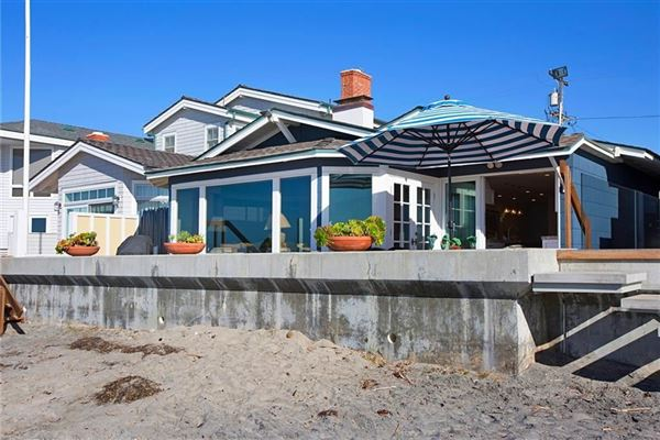 oceanfront rental home directly on the sand luxury real estate