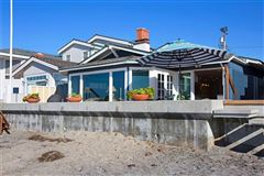 oceanfront rental home directly on the sand luxury properties
