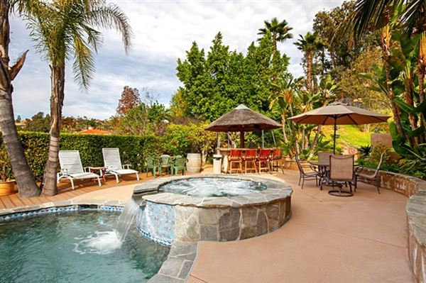 Picture perfect single level home with incredible outdoor entertaining area luxury properties