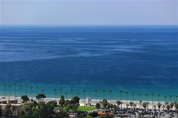 Luxury real estate private rental with panoramic ocean view