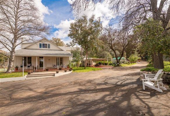 Luxury real estate breezeway ranch