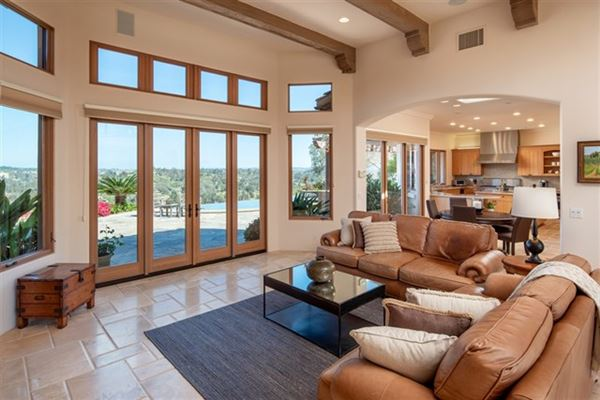 Commanding 270-degree views from every room luxury real estate