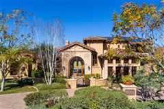 sophisticated home in the Bridges in Rancho Santa Fe mansions