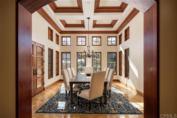 sophisticated home in the Bridges in Rancho Santa Fe luxury real estate