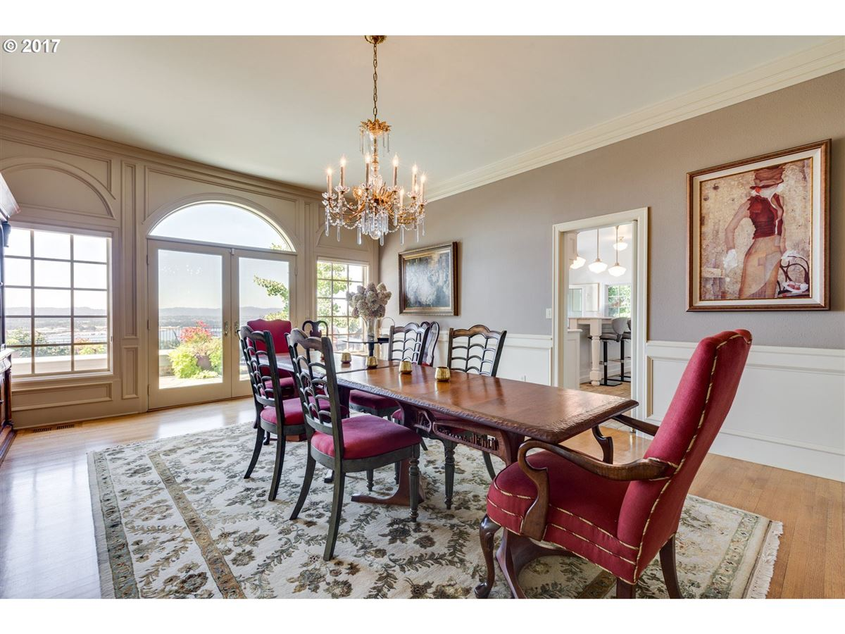 upgraded Stately Georgian with great views luxury homes