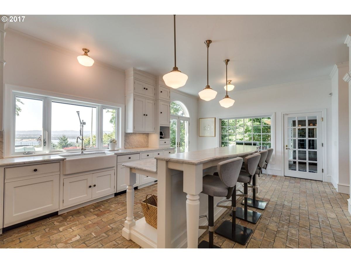 upgraded Stately Georgian with great views luxury real estate