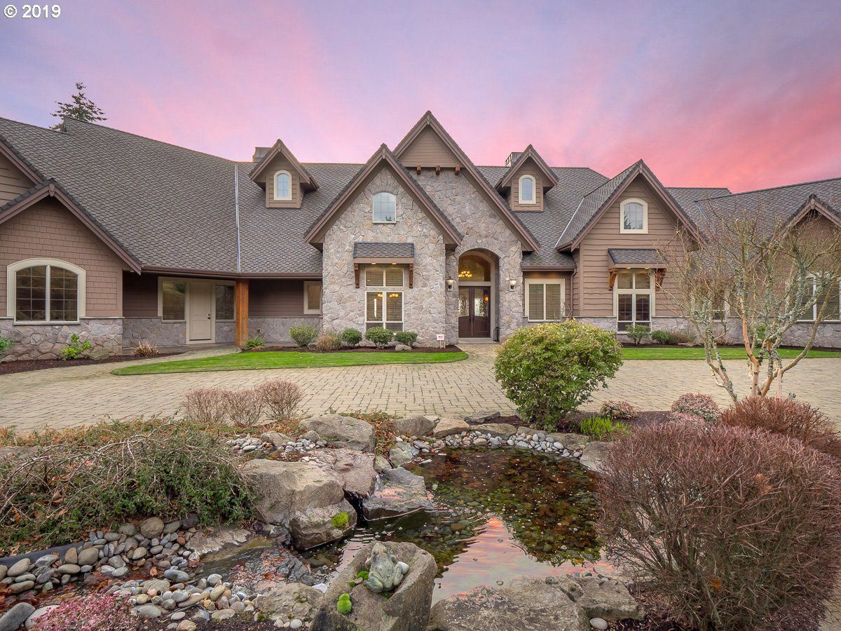 Luxury homes in Amazing custom estate of over 15 acres