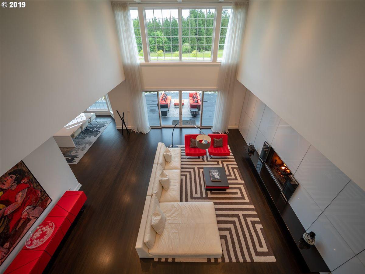 Luxury homes serene modern farmhouse