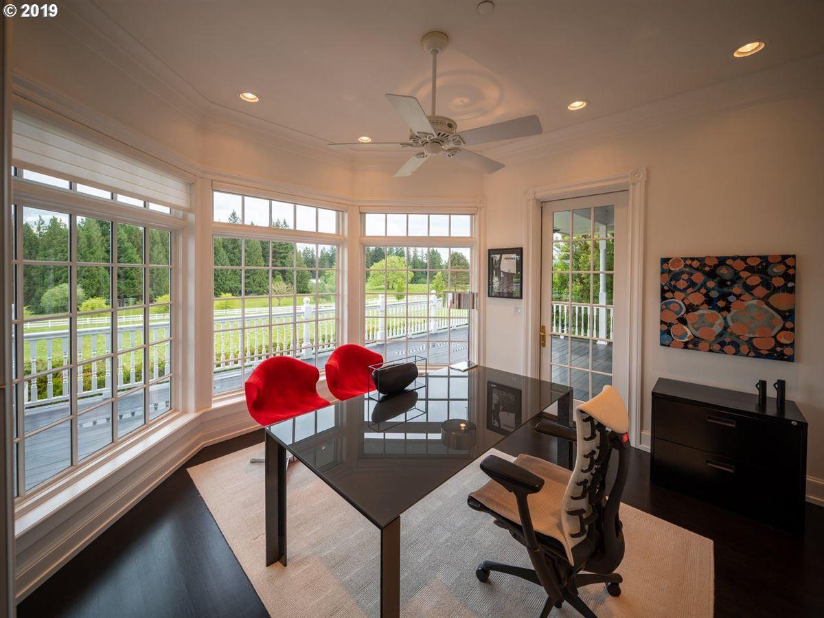 Luxury real estate serene modern farmhouse