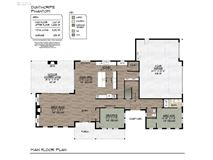 proposed classic modern farmhouse luxury real estate
