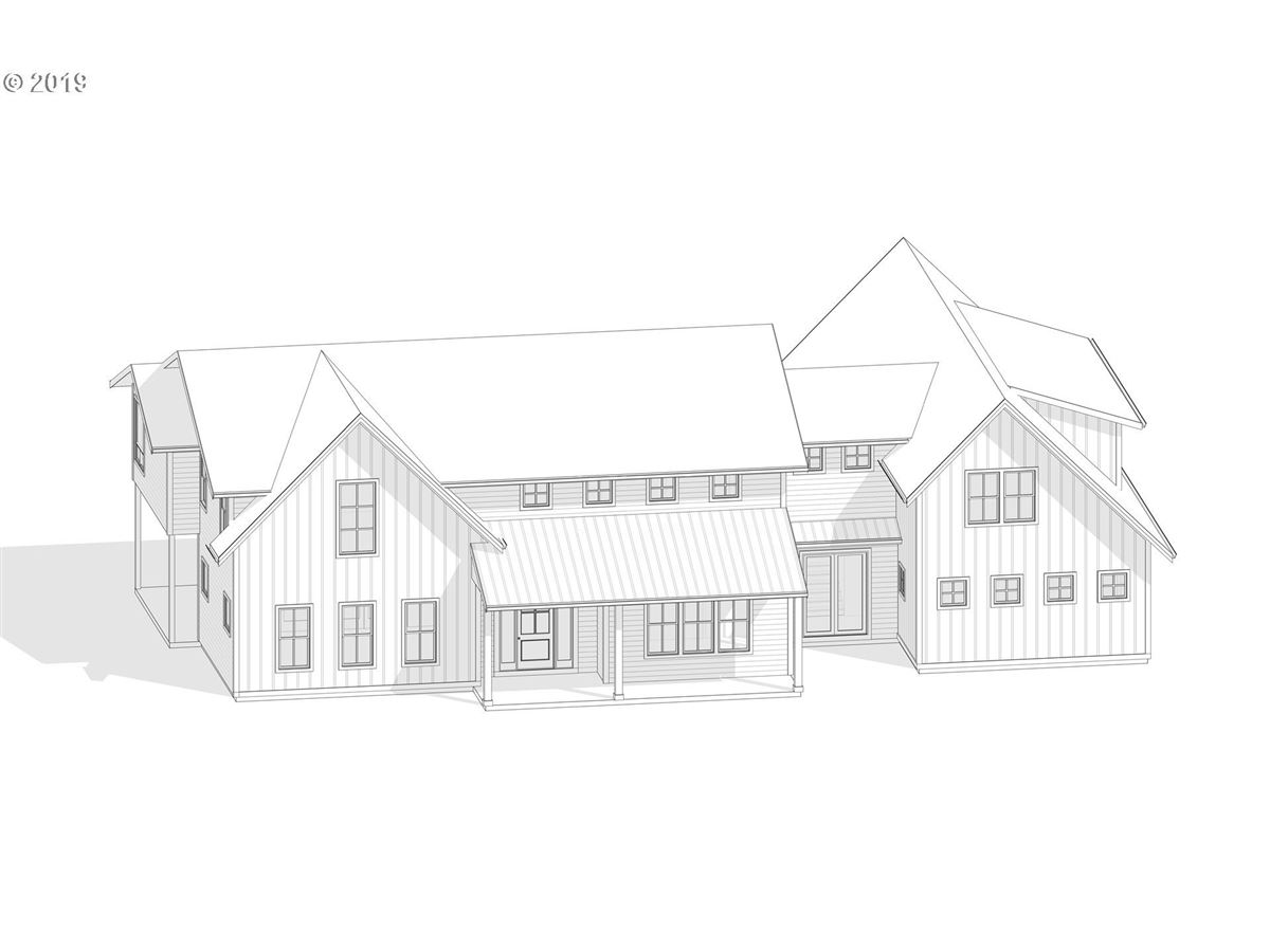 proposed classic modern farmhouse luxury homes