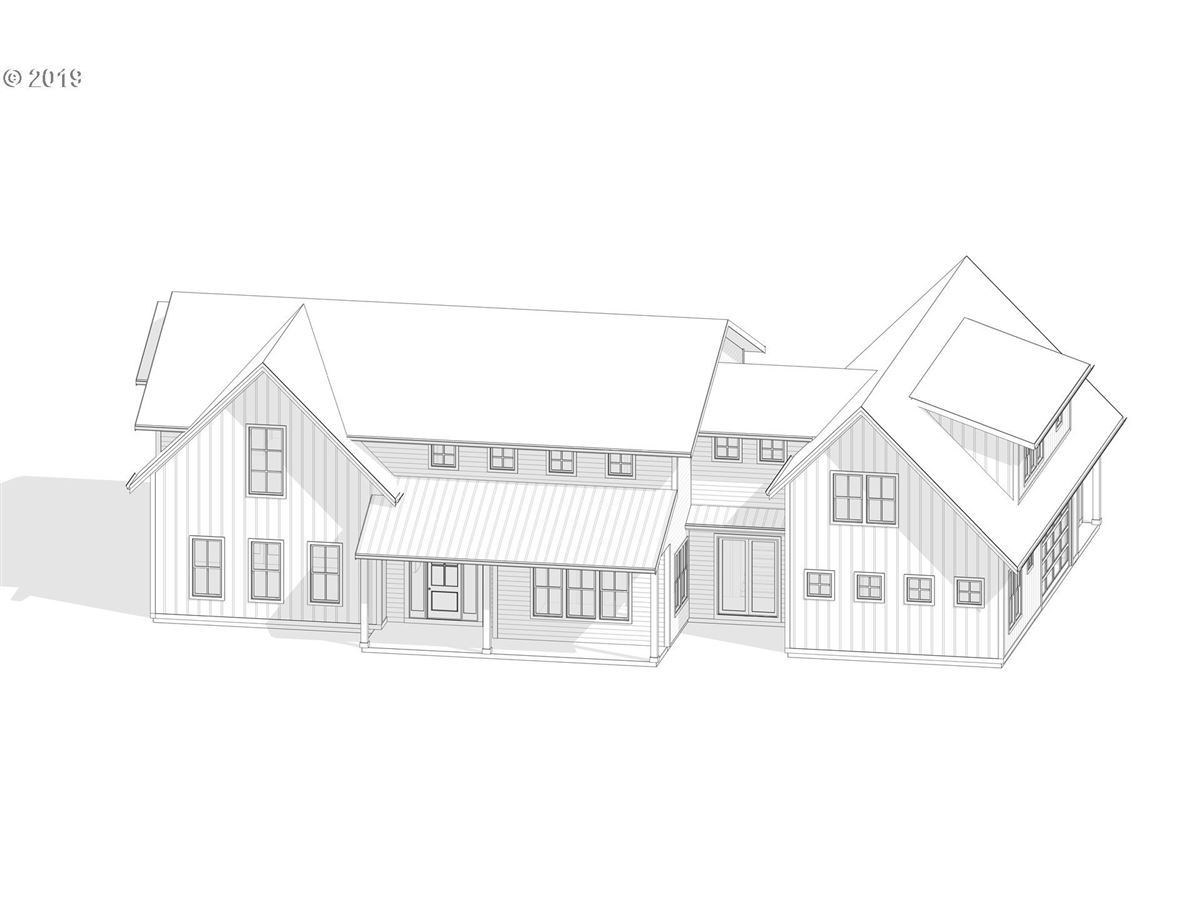 Luxury homes in proposed classic modern farmhouse