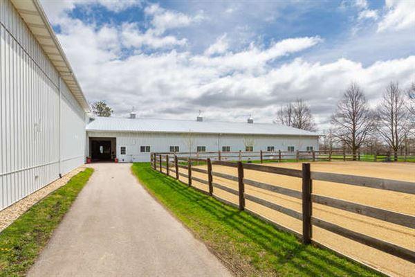 Luxury real estate BOUTIQUE EQUESTRIAN FARM