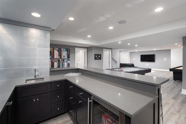 Mansions in spectacular custom home in a gem of a location