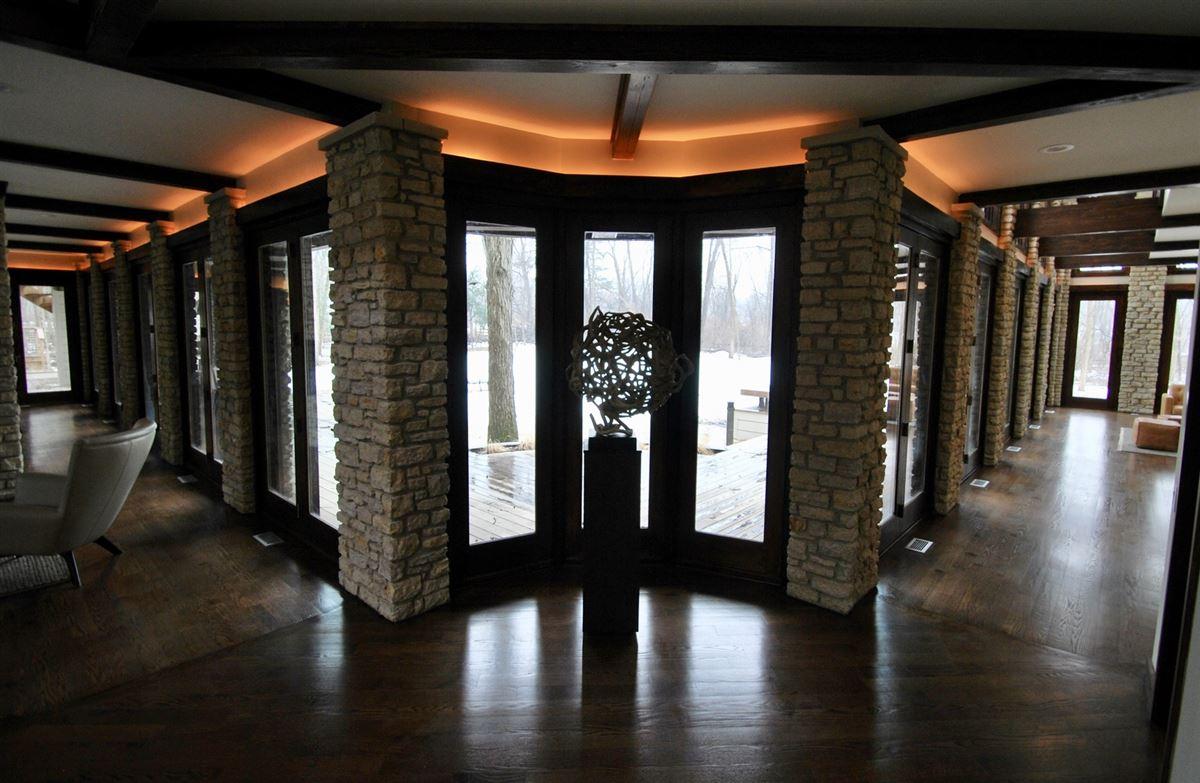 Luxury real estate neo-prairie style home