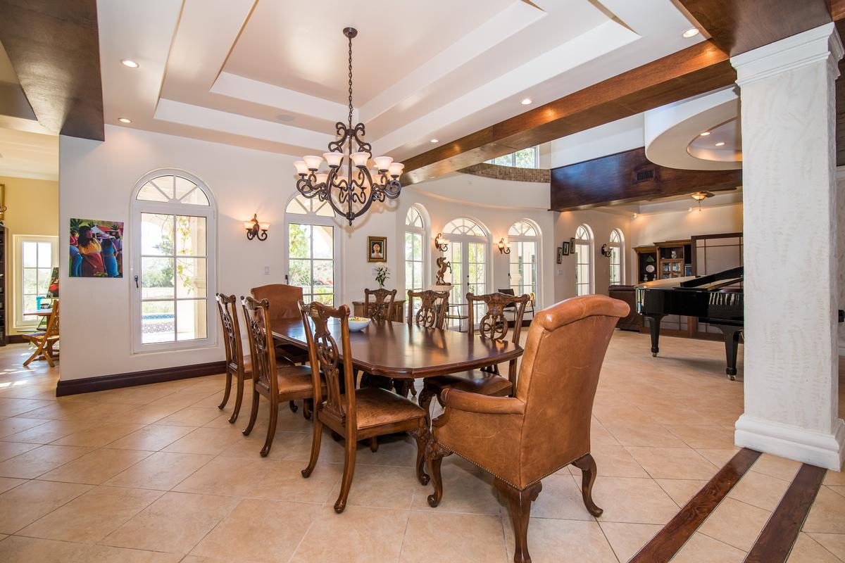 An impressive Tuscan-style in grand cayman mansions