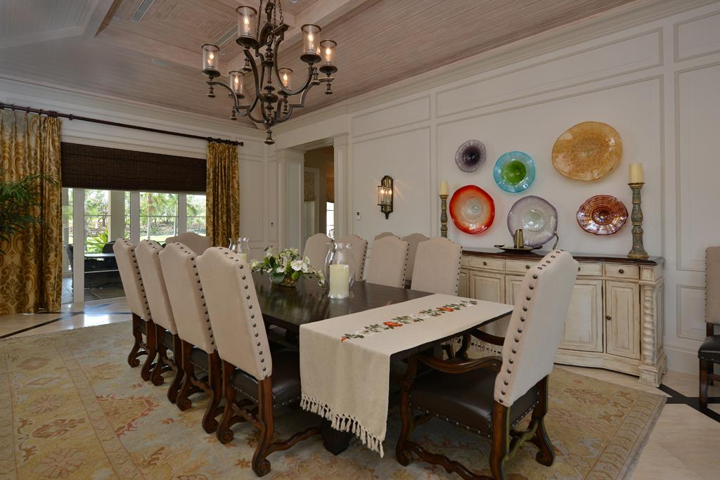 Luxury homes Baker House at Ocean Club Estates